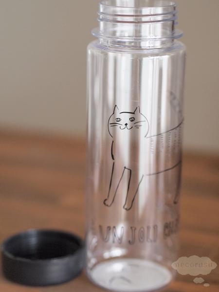 猫柄ウォーターボトル