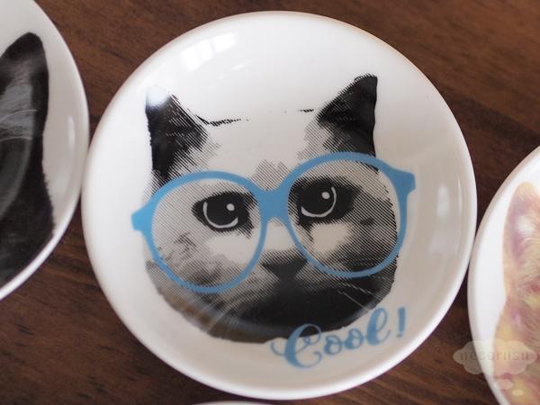 豆皿 猫 イラスト