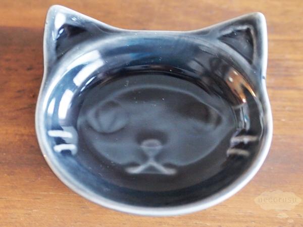 セリアの猫型ミニプレート
