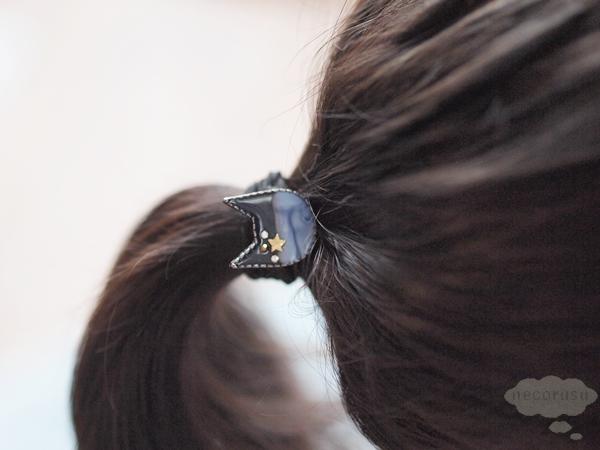 猫のヘアアクセサリー