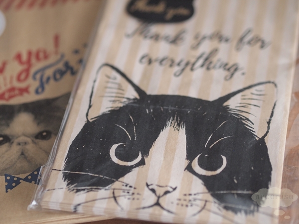 猫の紙袋ギフト用