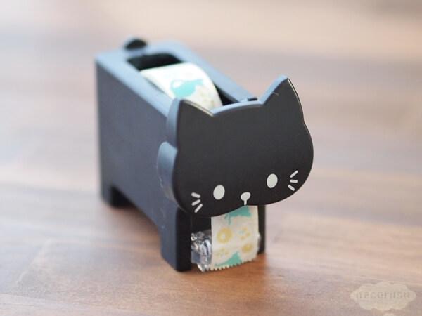 セリアの猫型マスキングテープカッター