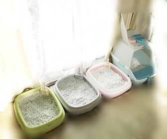 掃除のしやすい猫トイレの実例5
