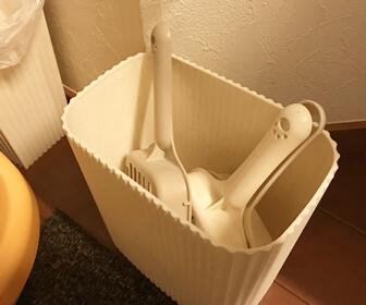 掃除のしやすい猫トイレの実例3