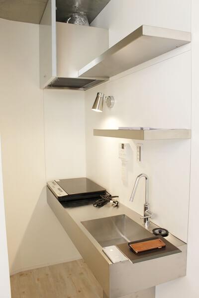 ネコリパ不動産、猫賃貸物件のキッチン