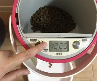 ルスモ (LUSMO) 猫の給餌器のモニター