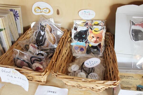 LOVE & Co.さんの保護猫雑貨