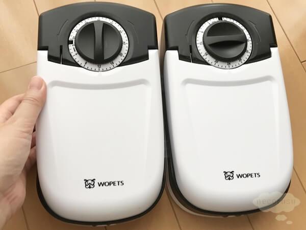 WOpetペット給餌器 タイマー給餌器