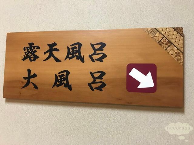 箱根仙石原、猫のいる温泉旅館みたけの温泉は地下にあります