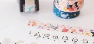 猫柄のマスキングテープ集めてみました!猫用品のマステアイデアも!